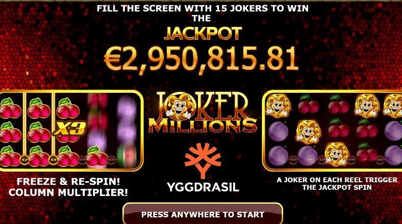 joker millions gameplay