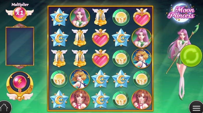 moon princess game interface