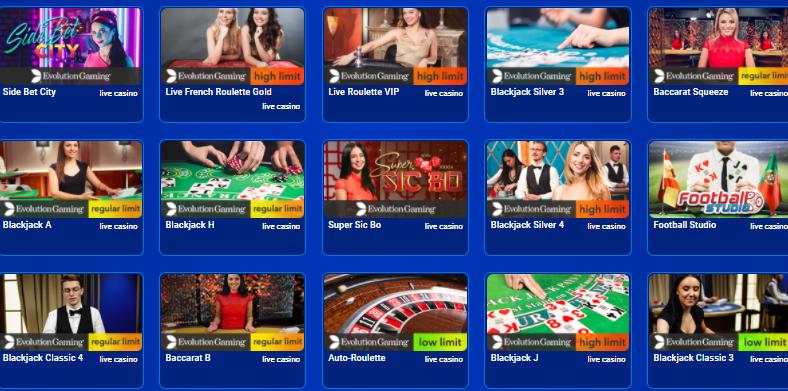 live casino all british