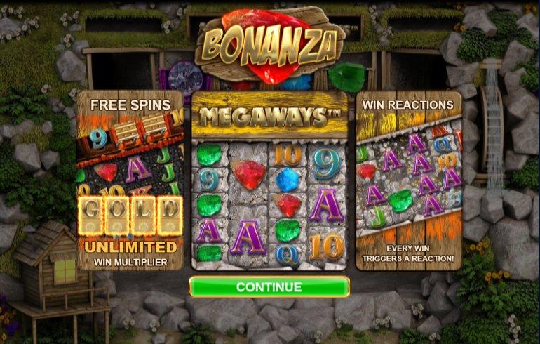 bonanza slot features