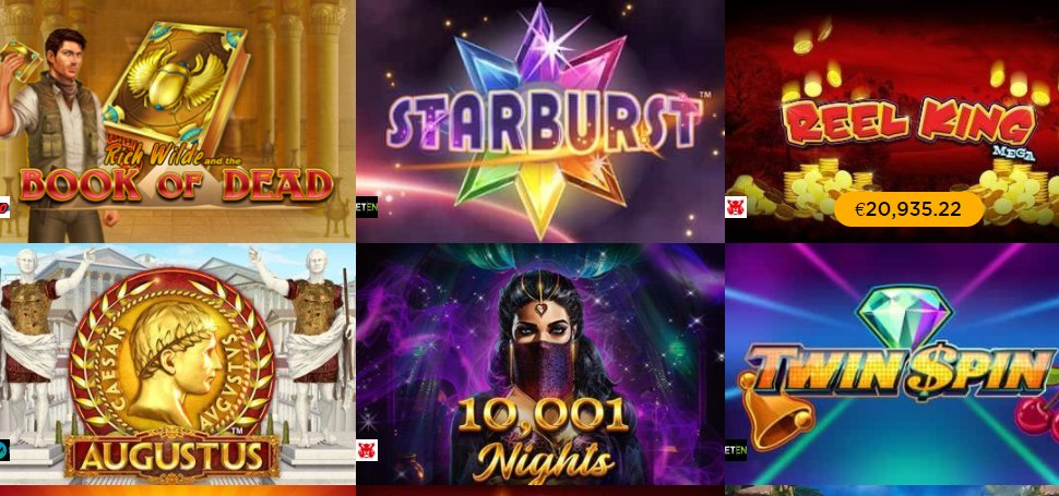 find favourite video slots at casino cruise