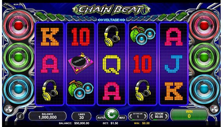 chain beat slot interface