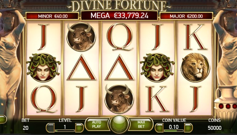 divine fortune gameplay