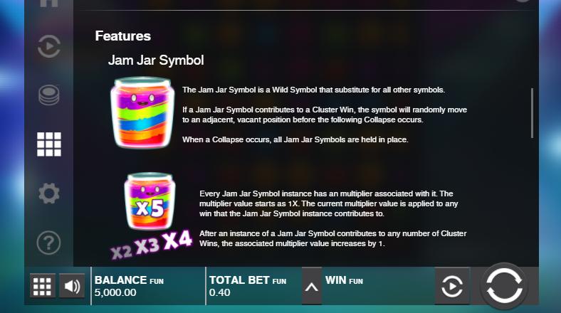features jammin jars