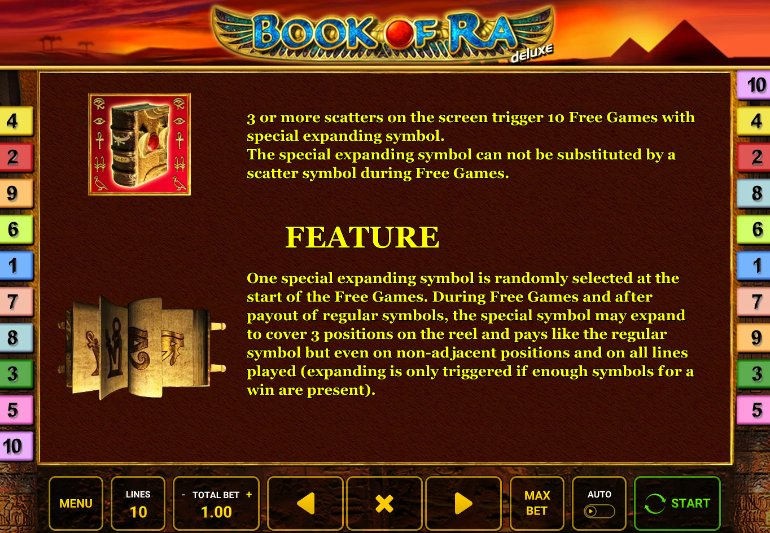 free spins book of ra deluxe