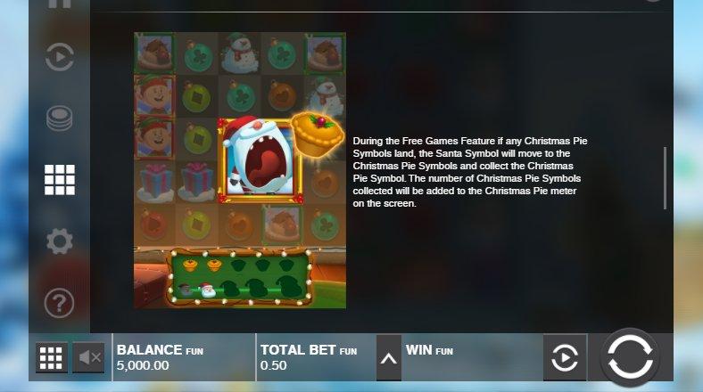 free games feature at fat santa slot