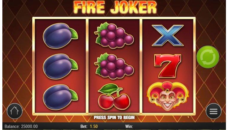 gameplay fire joker