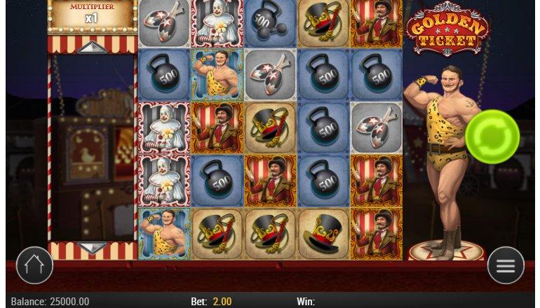 gameplay golden ticket