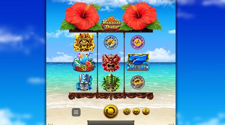 hawaiian dream slot gameplay