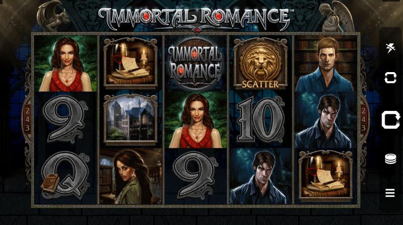 immortal romance interface