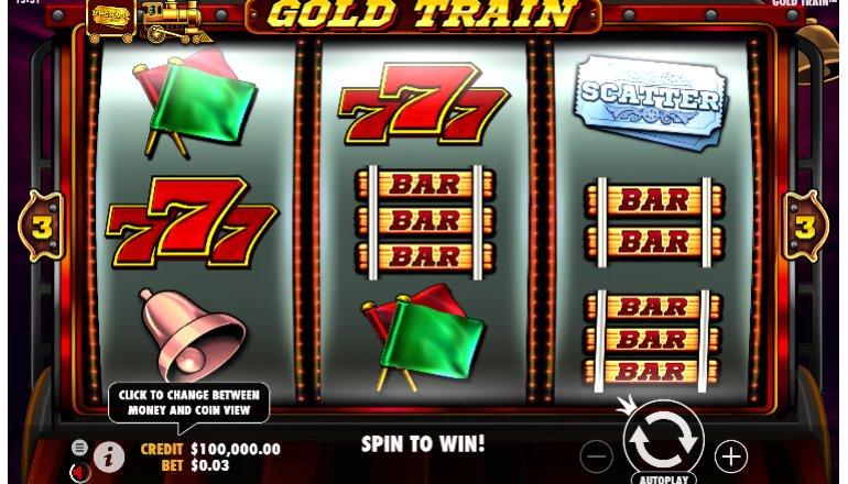 gold train interface