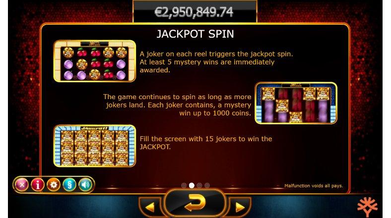 jackpot spin joker