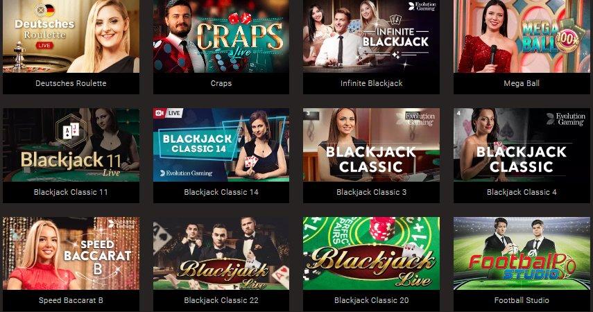 live casino bitstarz
