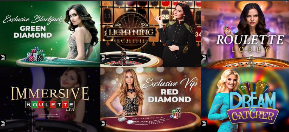 live casino cruise