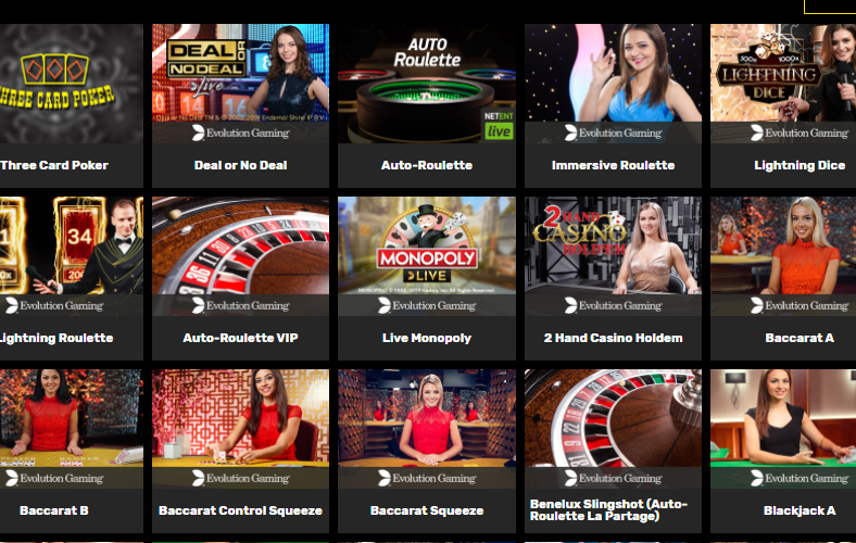 live casino hyper