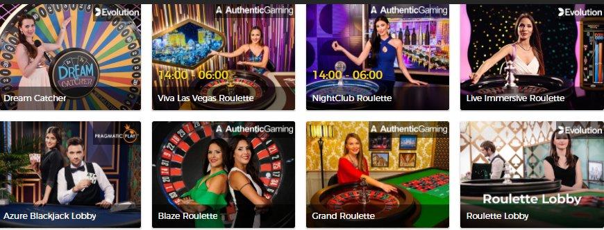 live casino mr green casino