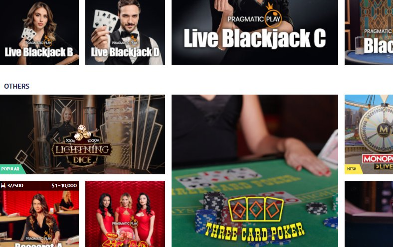 live casino playojo