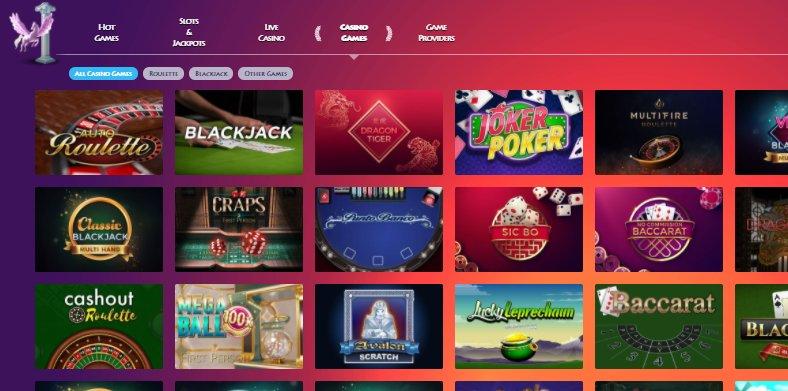 lobby of casino gods