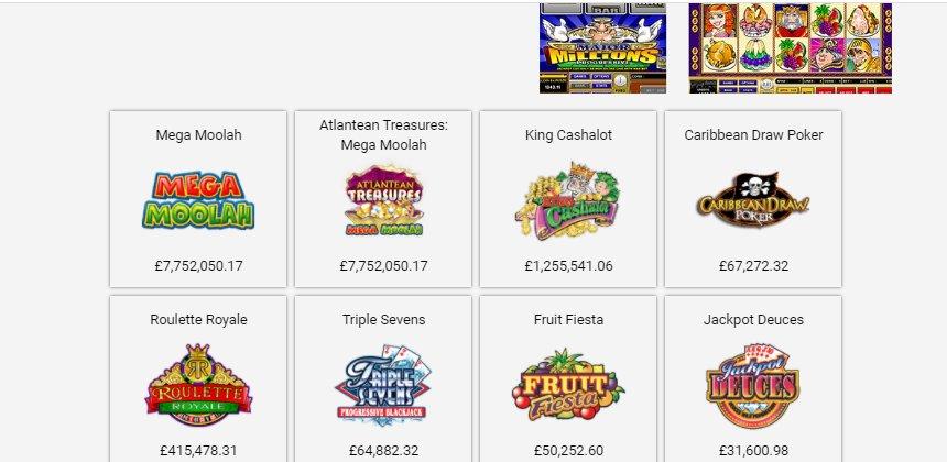 progressive slots luxury casino