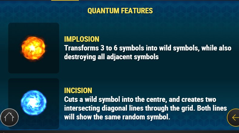quantum features reactoonz