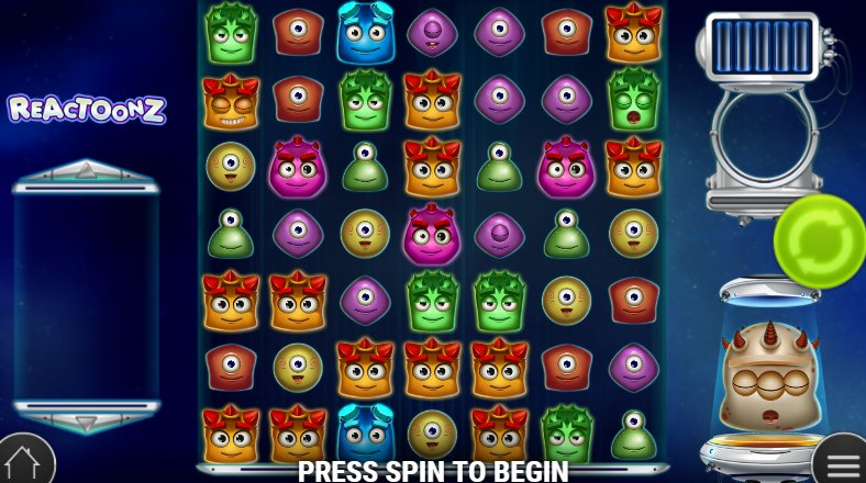 game grid reactoonz