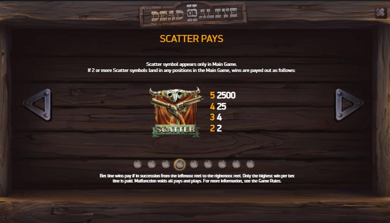 scatter pays dead or alive