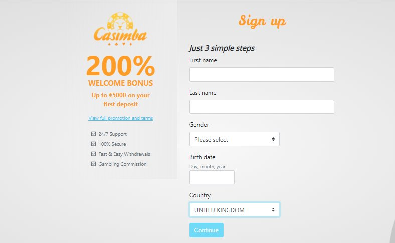 registration 1 casimba