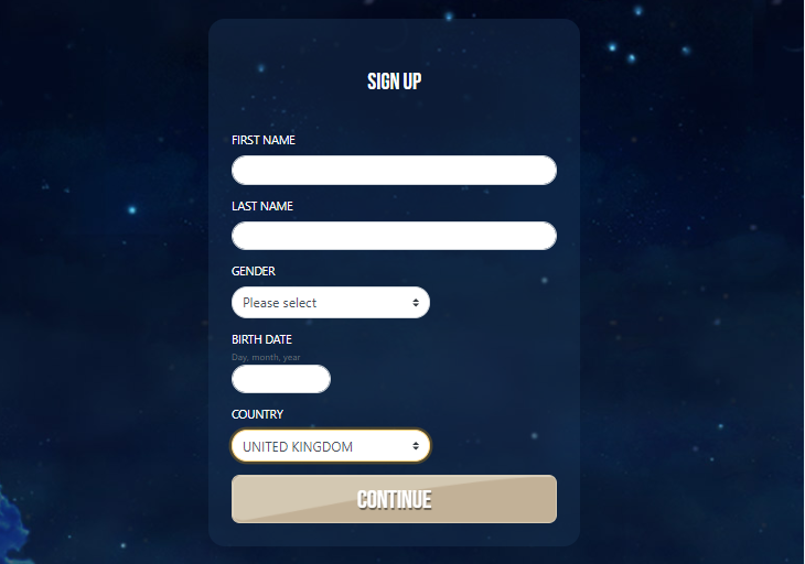 sign up 1 dream vegas
