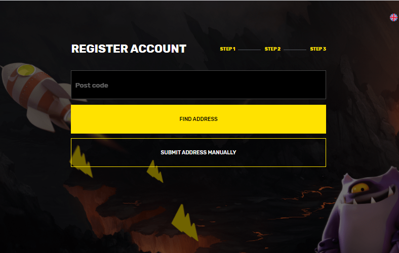 sign-up 3 hyper casino