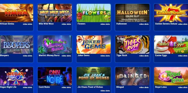 all british casino slots