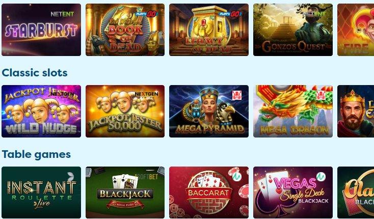 video slots at playfrank