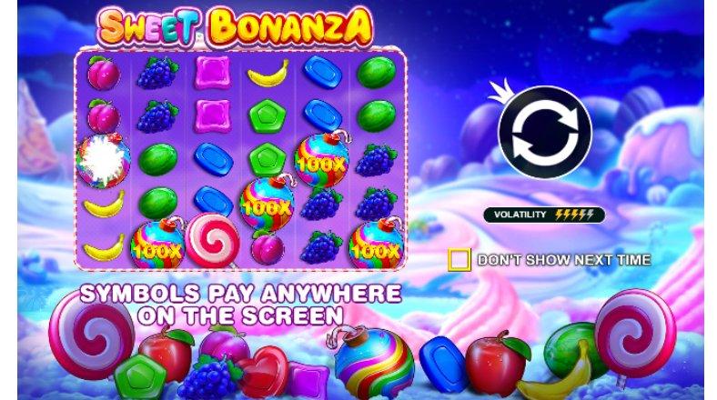 sweet bonanza game grid