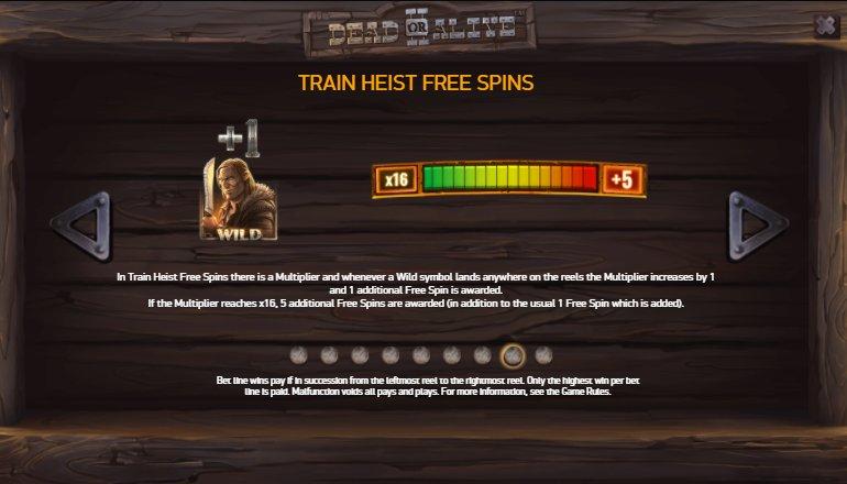 train heist dead or alive game