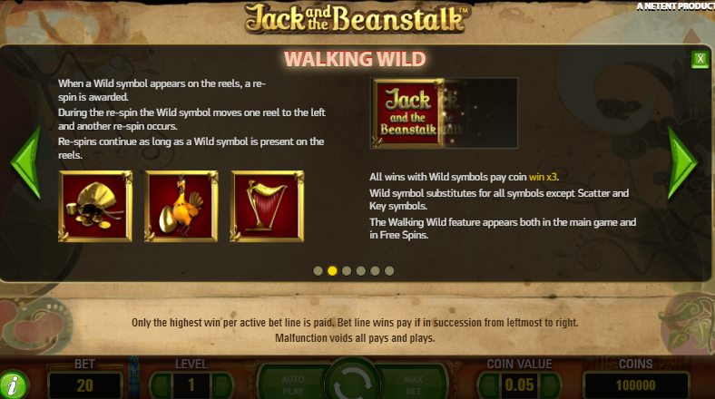 walking wild jack and beanstalk game