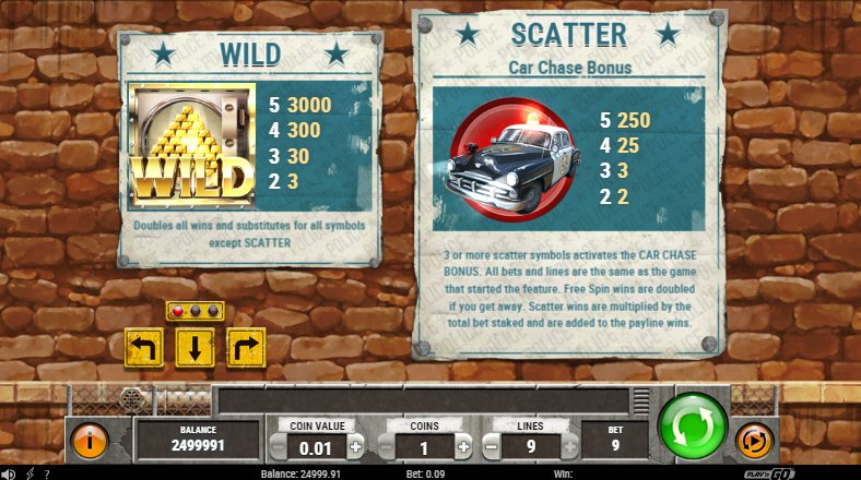 wild & scatter features