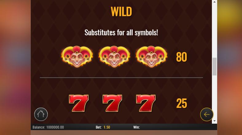 wild symbol fire joker