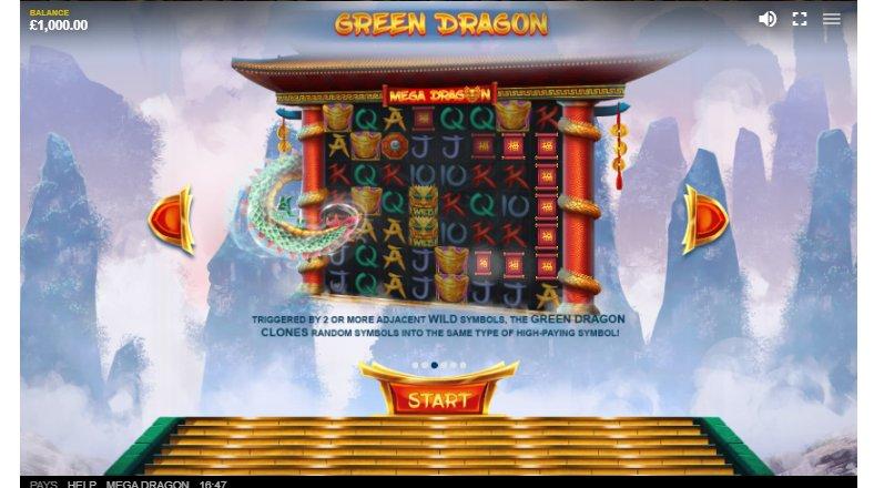 wild symbol in mega dragon slot machine