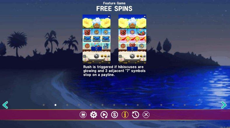 free spins hawaiian dream slot