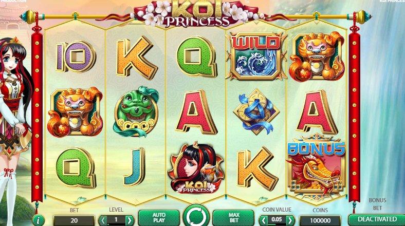 game koi princess