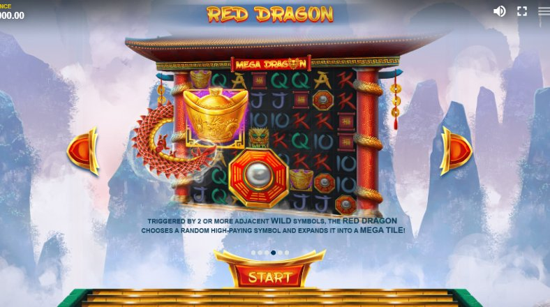 red dragon feature