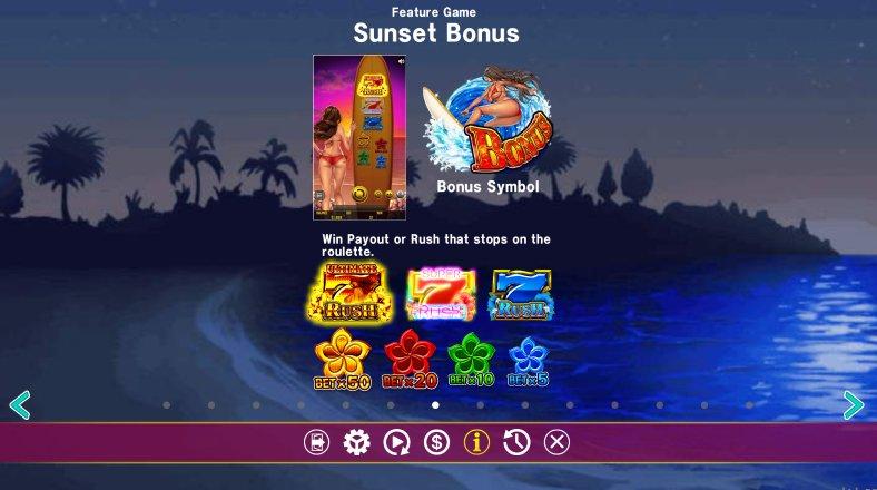sunset feature
