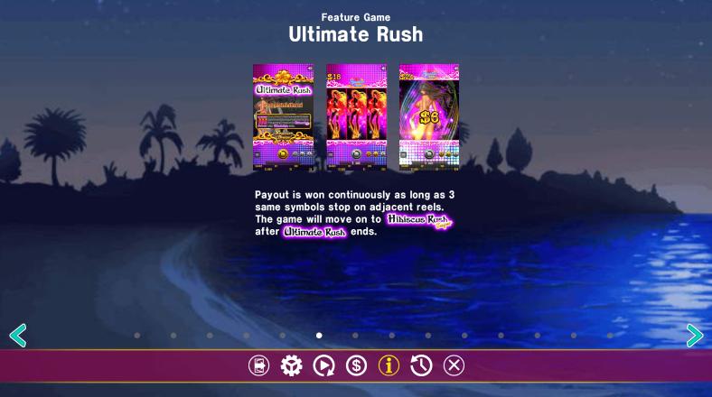 ultimate rush hawaiian dream slot