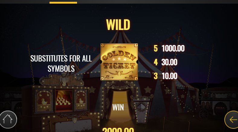 wild in golden ticket slot