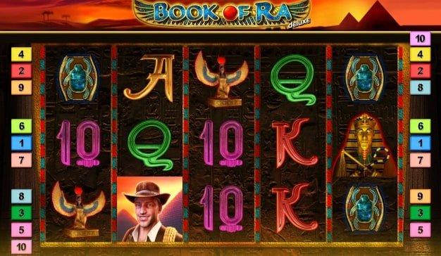 Book of Ra Deluxe Gameplay