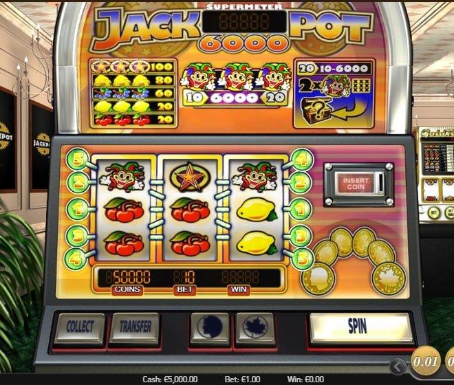 Jackpot 6000 RTP