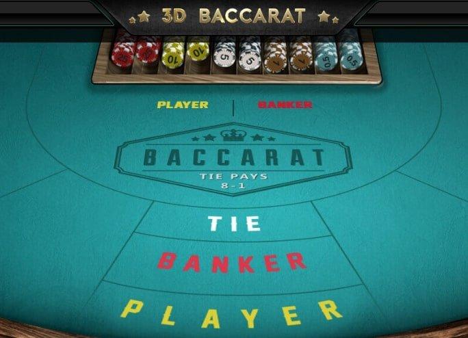 Baccarat in Slotnite Casino