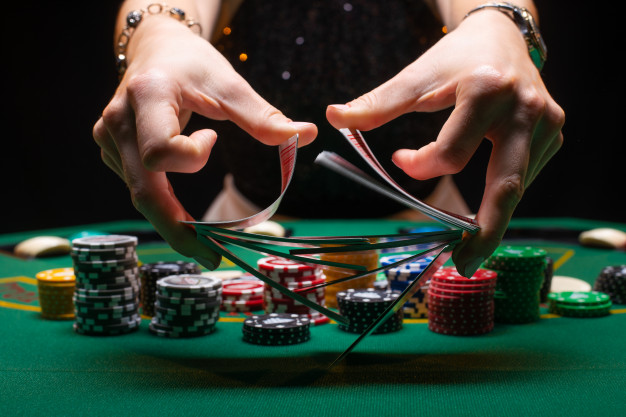 Gambling Games with Cards in a Live Casino
