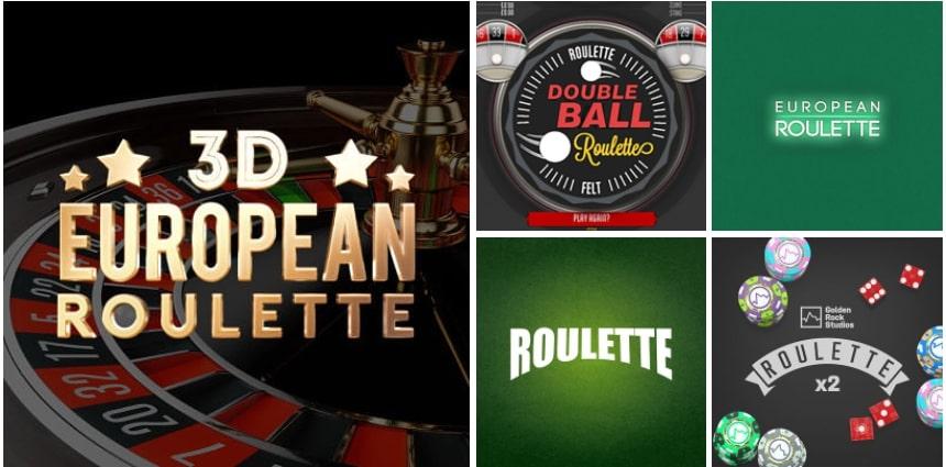 Slotnite Roulette Variations