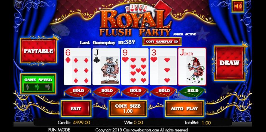 Video Poker Online Games