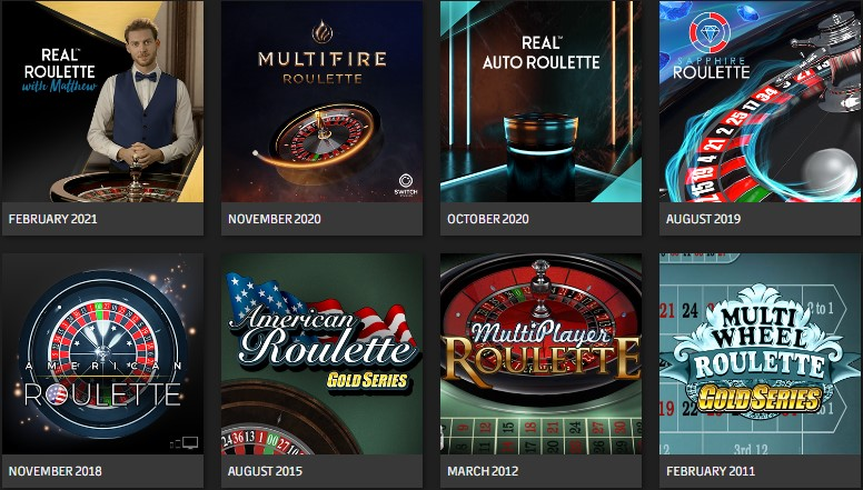 roulette games microgaming